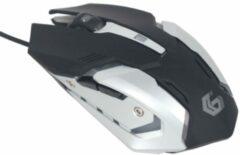 Witte Gembird MUSG-07 muis USB Type-A 3200 DPI