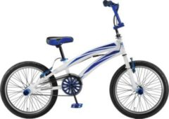 20 Zoll Jungen BMX Fahrrad Hoopfietsen... weiß-blau