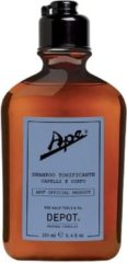 Depot The Male Tools & Co APE BY DEPOT Shampoo Tonificante Capelli E Corpo