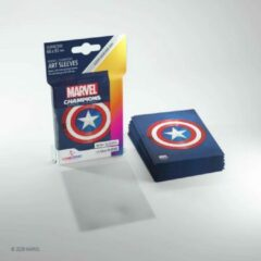 Captain America Art Sleeves Gamegenic