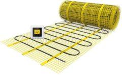 Gele Magnum Millimat elektrische vloerverwarming 225 watt, 1,5 m2 met klokthermostaat 200305