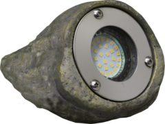 Luxform Tuinverlichting Tatra 14 X 10 X 11,5 Cm Polyresin Grijs