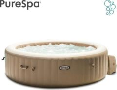 Beige Intex Pure Spa Bubble - Sahara jacuzzi - 216x71 cm - 6 personen