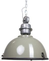 Industriele fabriekslamp Steinhauer Bikkel Groen ø42 cm