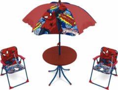 Marvel Campingset Spider-man Jongens Rood 4-delig