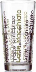 Transparante Montana Simply Latte Macchiato glas - H13 cm - 6 stuks