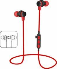 Platinet PM1061R mobiele hoofdtelefoon Stereofonisch In-ear Rood