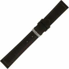 Morellato Morelatto Horlogebandje Panamera Zwart 24mm