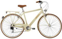 28 Zoll Herren City Fahrrad 6 Gang Adriatica Retro Adriatica creme