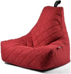 B-bag extreme lounging Extreme Lounging B-Bag Mighty-B Zitzak Quilted - Rood