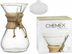Transparante Chemex Slow Coffee Set, 6-kops