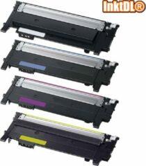 Cyane INKTDL XL Multipack Lasertoners cartridges voor Samsung (K406) CLP-360BK, CLP-360C, CLP-360M en CLP-360Y | Geschikt voor Samsung CLP-360, 362, 363, 364, 365, 368, CLX-3300, 3302, 3303, 3304, 3305, 3307, Samsung Xpress Sl-C412W, C413W, C463, C460