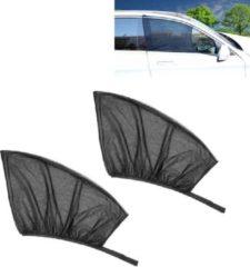 Merkloos / Sans marque 2 STKS Auto Voorruit Netto Garen Zonnebrandcrème Isolatie Venster Zonnescherm Cover, Size: 120 * 70 cm