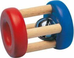 Selecta Spielzeug Selecta Rammelaar Junior Girollo 7 Cm Rood/blauw