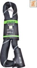 Falkx - Kettingslot - ART2 Goedgekeurd - Lengte 110 cm - Schakels 8.3 mm - Met Luxe Slotkop - Zwart