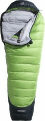 Nordisk Celsius -10° Slaapzak en Inlet XL groen Uitvoering links
