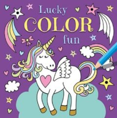 Deltas/Chantecler Deltas Lucky Color Fun Eenhoorn Kleurboek