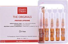 Martiderm TH ORIGINALS proteos liposoom olievrije ampullen Verstevigende gezichtsbehandeling