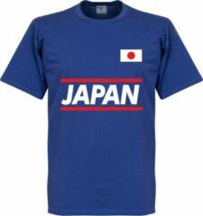Blauwe Merkloos / Sans marque Japan Team T-Shirt - XXL