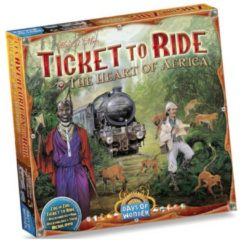 Selecta Days Of Wonder Ticket to Ride Map Collection Afrika Bordspel