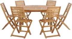 Beliani TOLVE - Tuinset - Lichte houtkleur - Acaciahout
