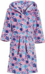 Playshoes badjas viooltjes meisjes roze/blauw/wit