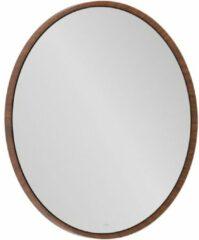 Villeroy & boch Antheus spiegel rond massief houten lijst american walnut b30500pv