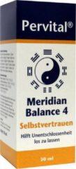 Pervital Meridian balance 4 zelfvertrouwen 30 Milliliter