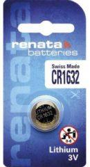 CR1632 Knoopcel Lithium 3 V 137 mAh Renata 1 stuks