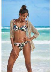 Zwarte S.Oliver Beachwear bikinibroekje »Herfst«