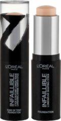 LOreal Paris Cosmetics Infaillible Foundation Stick 9 gr - 140 Natural Rose
