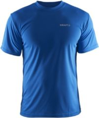 Blauwe Craft Prime Tee Heren Trainingsshirt - Sweden Blue - M