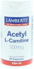 Lamberts Acetyl-L-Carnitine 500 mg 60 capsules