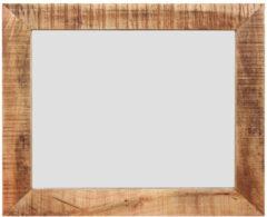 MD Interior Woodz spiegel met houten omlijsting 100x70cm