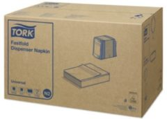 Witte MixMamas Tork - Navulverpakking dispenserservet - 1-laags fastfold - 36 x 300 stuks - Wit