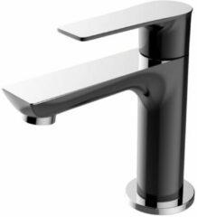 Zwarte Praya Casma toiletkraan 1/2 draadaansluiting zwart chroom 29.4282