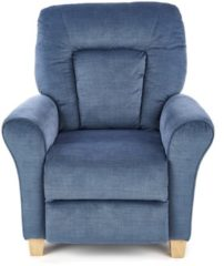 Home Style Fauteuil Bard in donkerblauw