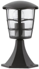 Zwarte EGLO Aloria - Buitenverlichting - Tuinpaaltje - 1 Lichts - Zwart - Helder