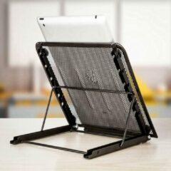 Opline Laptop Stand bureau Ondersteuning Verstelbare Laptop Standaard voor Pad Tablet Notebook - zwart