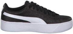 Sneaker Vikky Platform Glitz Jr mit SoftFoam+ Einlegesohle Puma Puma Black-Puma White-Puma Silver