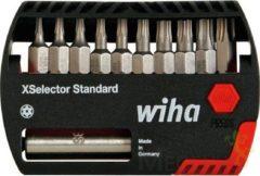 XSELECTOR STANDAARD GEMENGDE BIT SET TORX\xae H+ CENTER - 11-DELIG - WIHA - SB7944-505TR