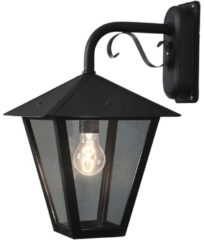 Konstsmide Benu Down 435-750 Buitenlamp (wand) Energielabel: Afhankelijk van de lamp Spaarlamp, LED E27 100 W Zwart