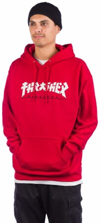 Afbeelding van Thrasher Godzilla Hoodie rood