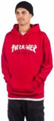 Thrasher Godzilla Hoodie rood