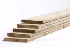 Woodvision Tuinhout plank NE Vuren | 18 x 145 mm | 480 cm