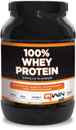 Afbeelding van QWIN Supplements 100% Whey Protein Vanilla 700 g
