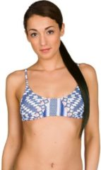 Blue Rip Curl Del Sol Bikini Top