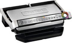 Tefal Grill GC722D OptiGrill+ XL, 2000 Watt, gebürsteter Edelstahl