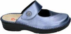 Berkemann -Dames - blauw - pantoffel - muil - maat 41½