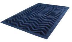 Kayoom Luxury Vloerkleed 160 x 230 cm Donkerblauw